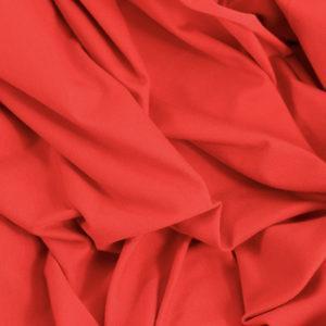 jersey coton Oeko-Tex tissus léa rouge © Eyrelles tissus