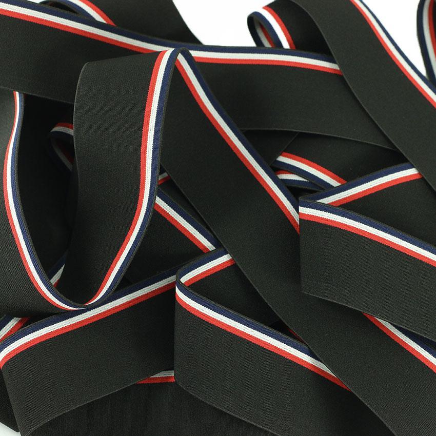 Mercerie élastique france noir © Eyrelles Tissus