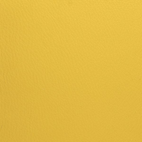 Simili cuir Jaune Moutarde © Eyrelles Tissus