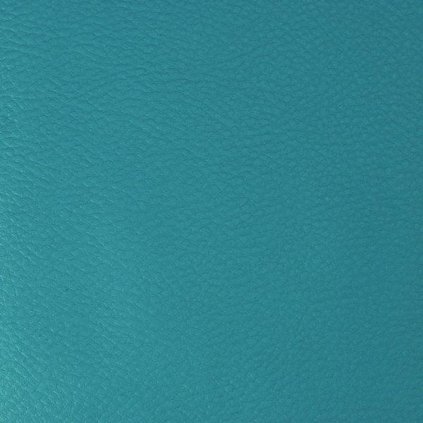 Simili cuir Bleu Canard © Eyrelles Tissus