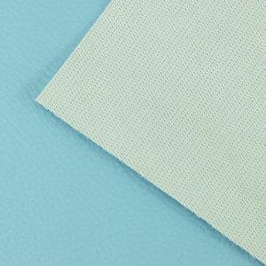 Simili cuir Bleu Piscine © Eyrelles Tissus