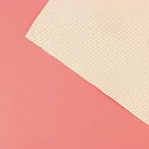 Simili cuir Rose Saumon © Eyrelles Tissus