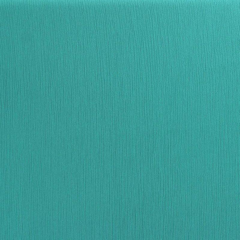 "Tissu voile crêpe uni ""paon"" © Eyrelles Tissus"